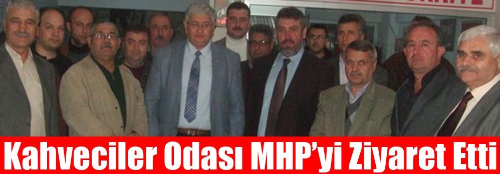 Kahveciler Odası MHP'yi Ziyaret Etti