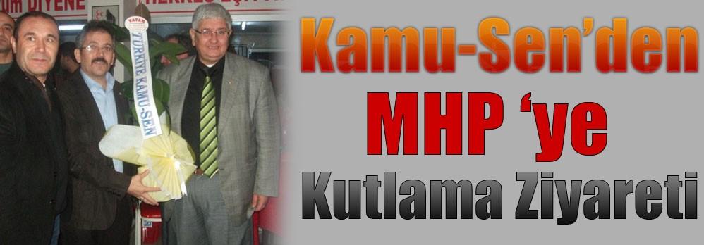 Kamu-Sen'den MHP 'Ye Kutlama Ziyareti