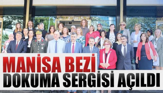 Manisa Bezi Dokuma Sergisi Açıldı