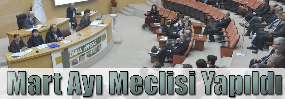 Mart Ayı Meclisi Yapıldı