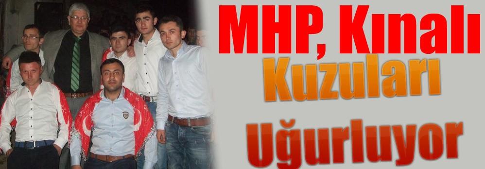 MHP, Kınalı Kuzuları Uğurluyor