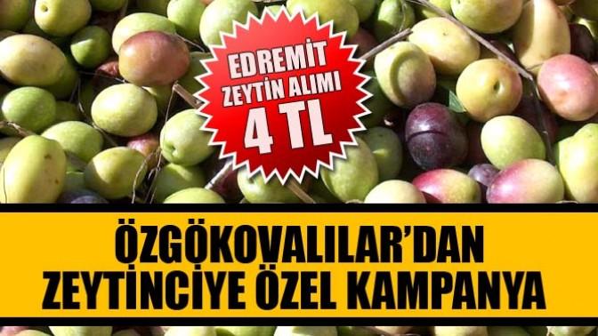 Özgökovalılar'dan Zeytinciye Özel Kampanya