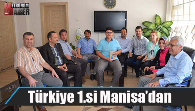 Türkiye 1.si Manisa'dan