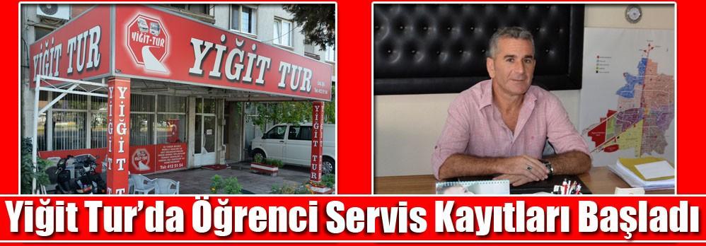 Yiğit Tur'da Öğrenci Servis Kayıtları Başladı