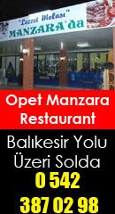 Akhisar Haber - Opet Manzara Restaurant