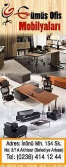 Akhisar Haber - Akhisar Gümüş Mobilya Ofis Mobilyaları