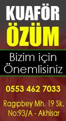 Akhisar Haber - Kuaför Özüm